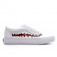 Кеды Vans Old School Shark Black White