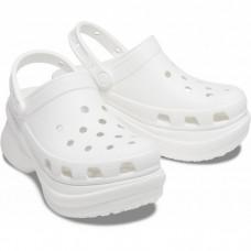 "Кроксы на платформе Crocs Classic Bae Clog ""White"""