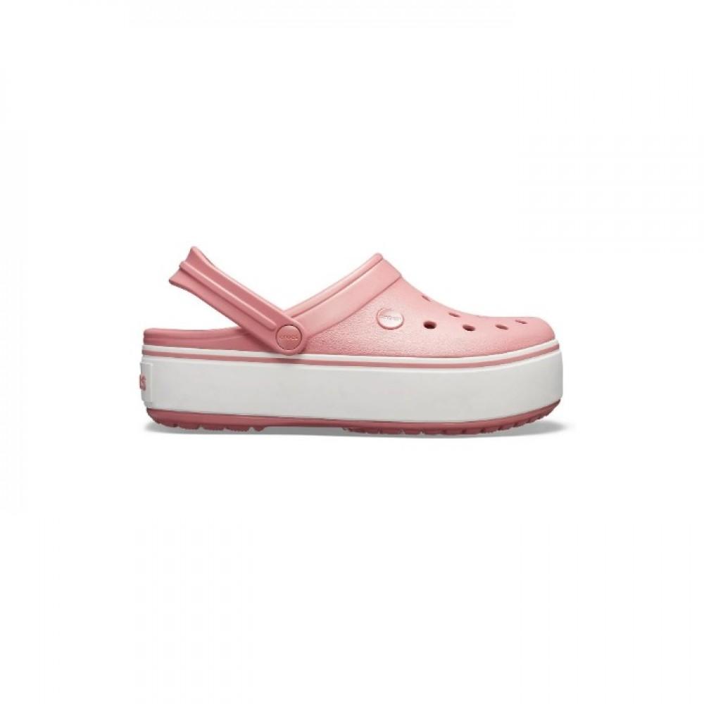 "Сабо Кроксы Crocs Platform ""Blossom/White"" (Розовый)"