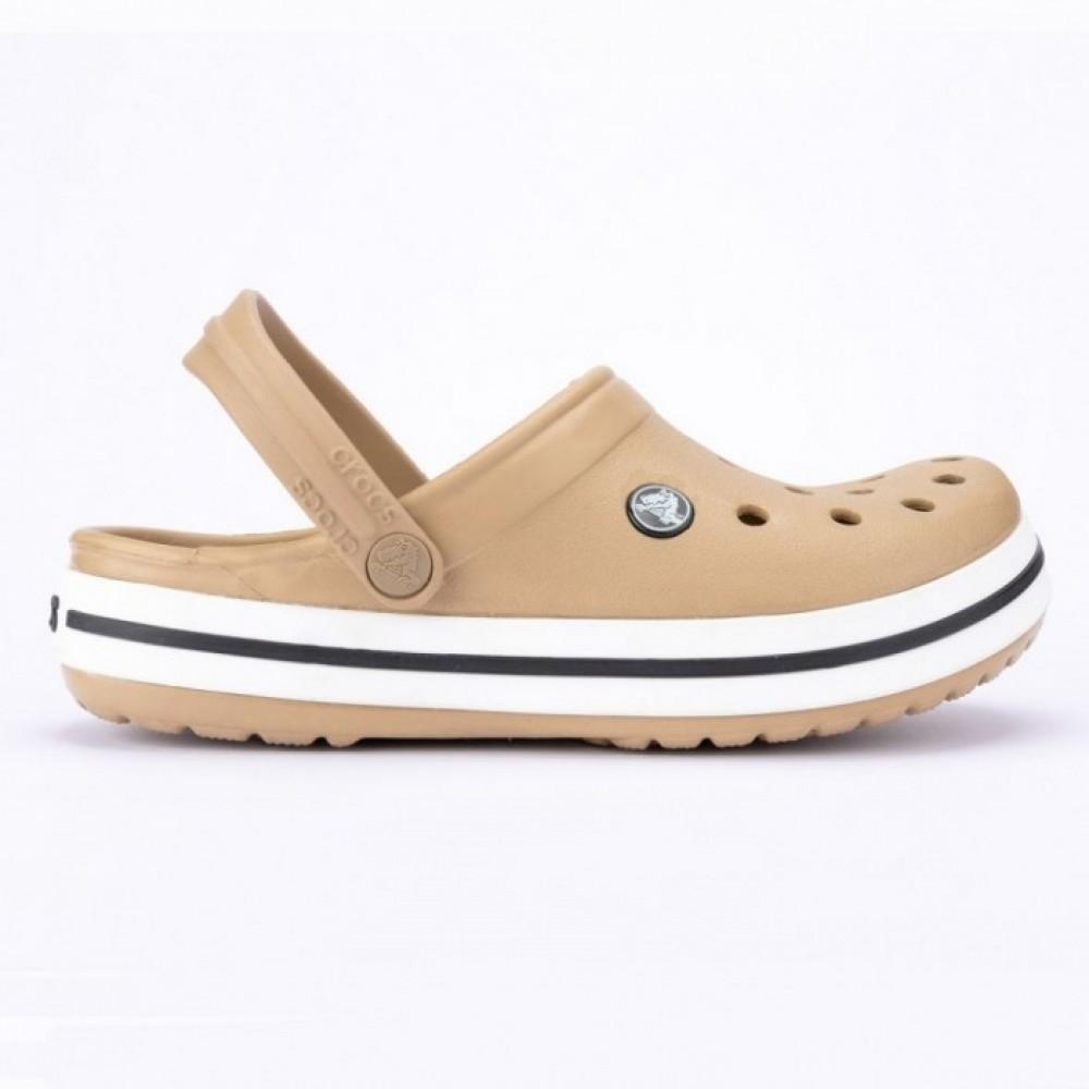 "Кроксы Crocs Crocband ""Сappuccino"" (Бежевый)"