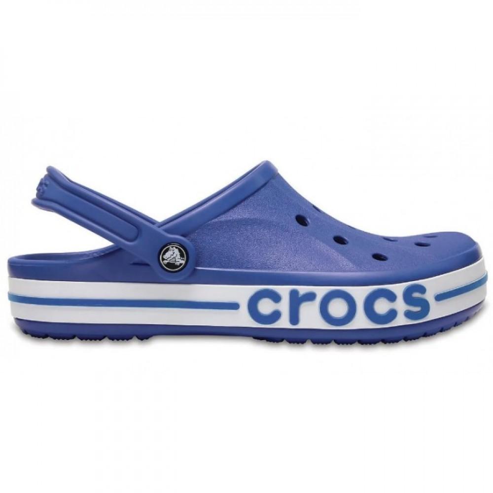 "Кроксы Crocs Bayaband Clog ""Blue/White"" (Синий)"