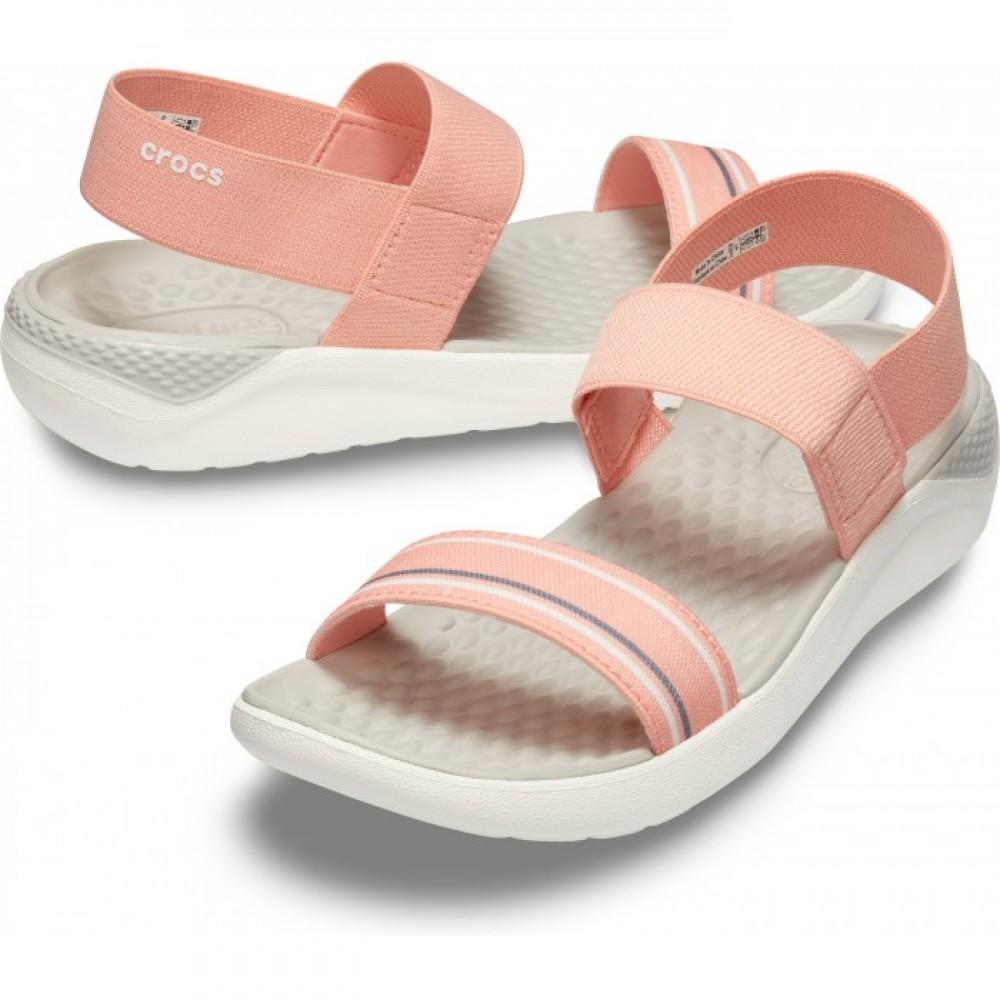 """Сандалии женские Crocs Women's LiteRide™ Sandal """"Melon"""" (Розовый)"""