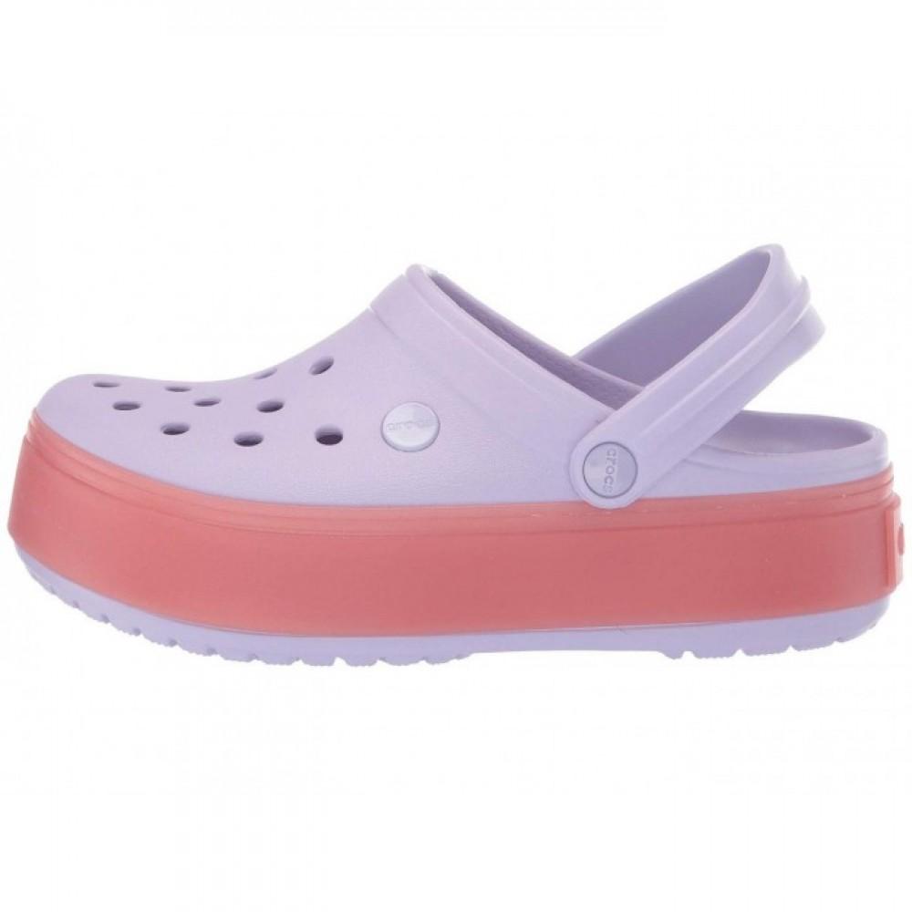 """Сабо Кроксы Crocs Platform """"Lavender/Melon"""" (Лавандовый)"""