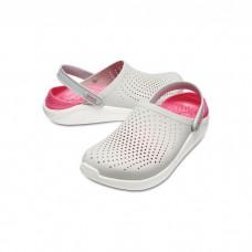 """Сабо Кроксы Crocs LiteRide™ Clog """"Pearl/White"""""""