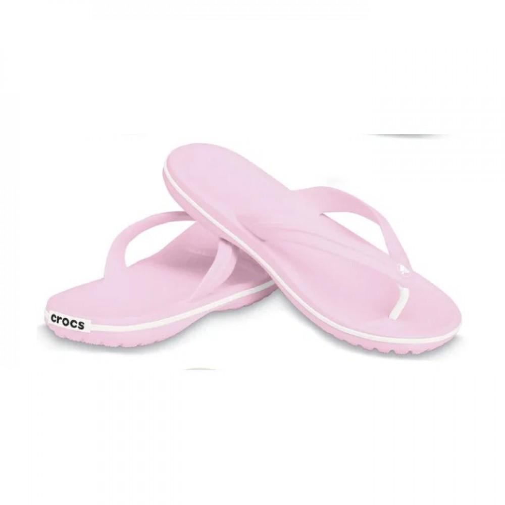 """Вьетнамки Crocs Crocband Flip Flop """"Pink"""" (Розовый)"""