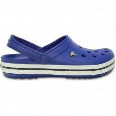 "Кроксы Crocs Crocband ""Blue/White"""
