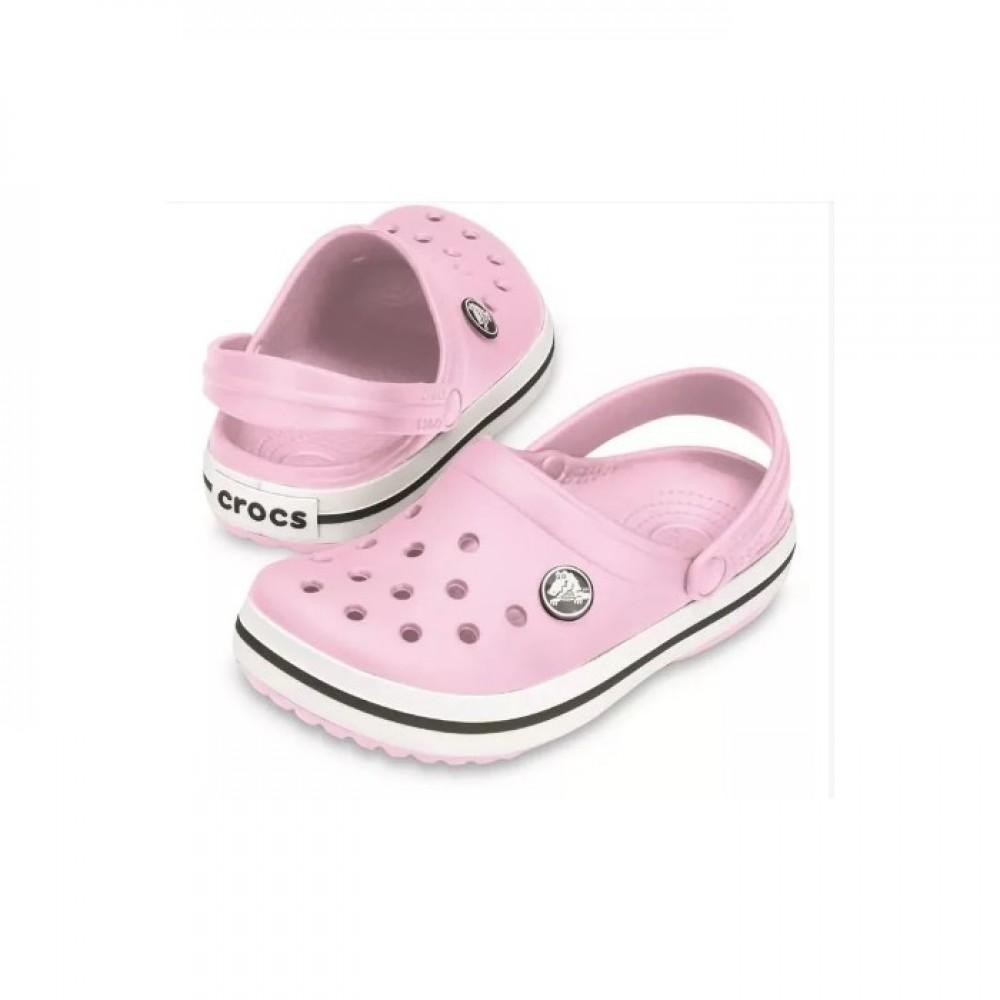 """Кроксы Crocs Crocband """"Bubble"""" (Розовый)"""