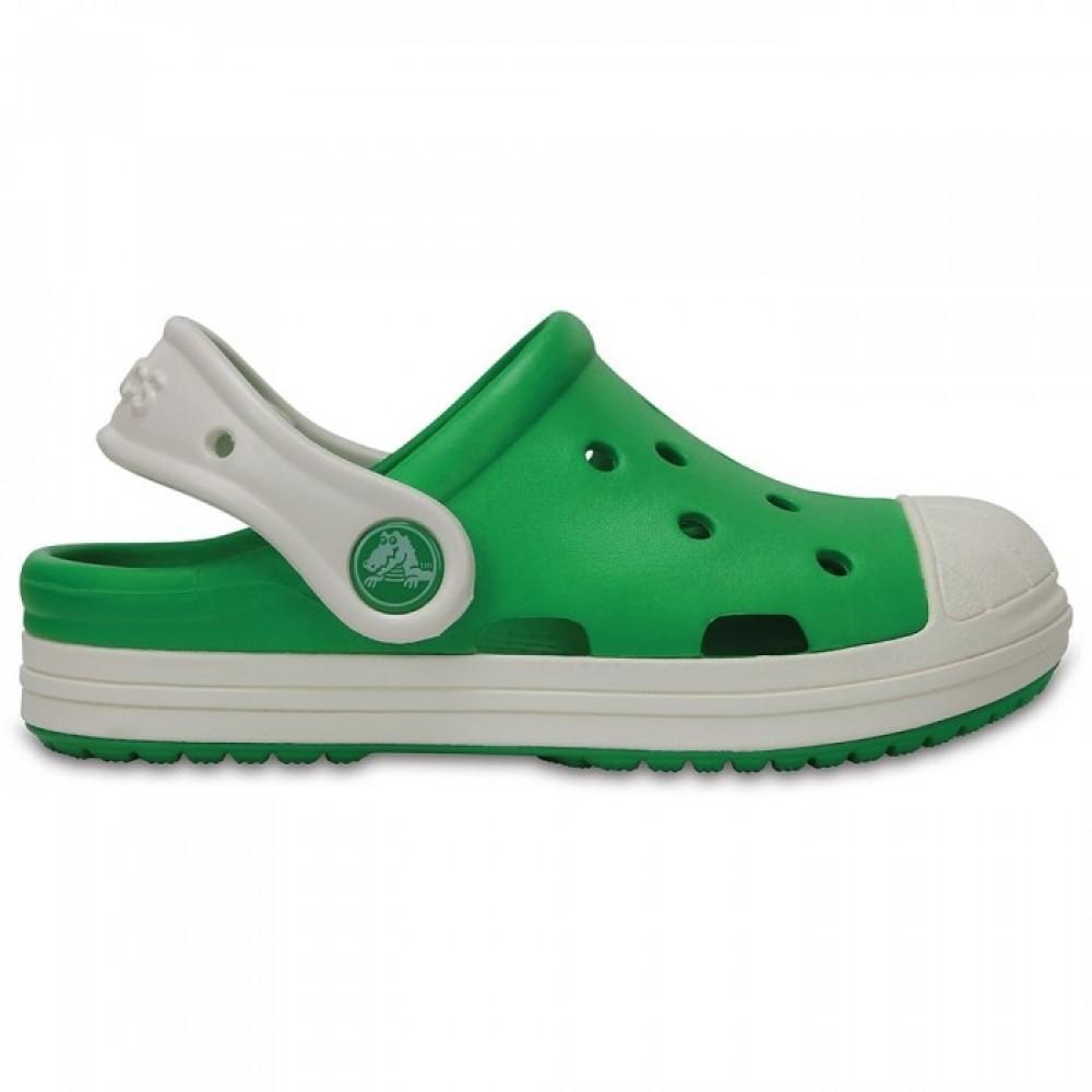 """Детские Кроксы Crocs Kids Bump It Clog """"Green"""" (Зеленый)"""
