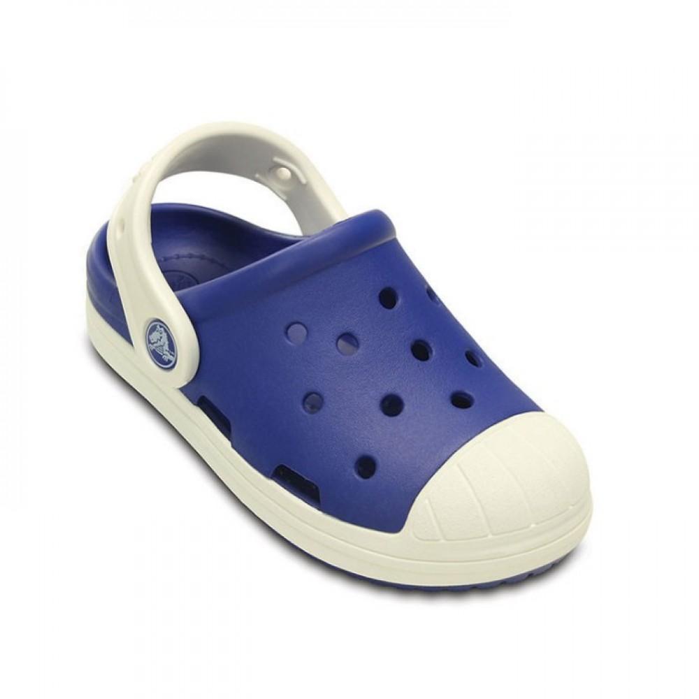 """Детские Кроксы Crocs Kids Bump It Clog """"Blue"""" (Синий)"""