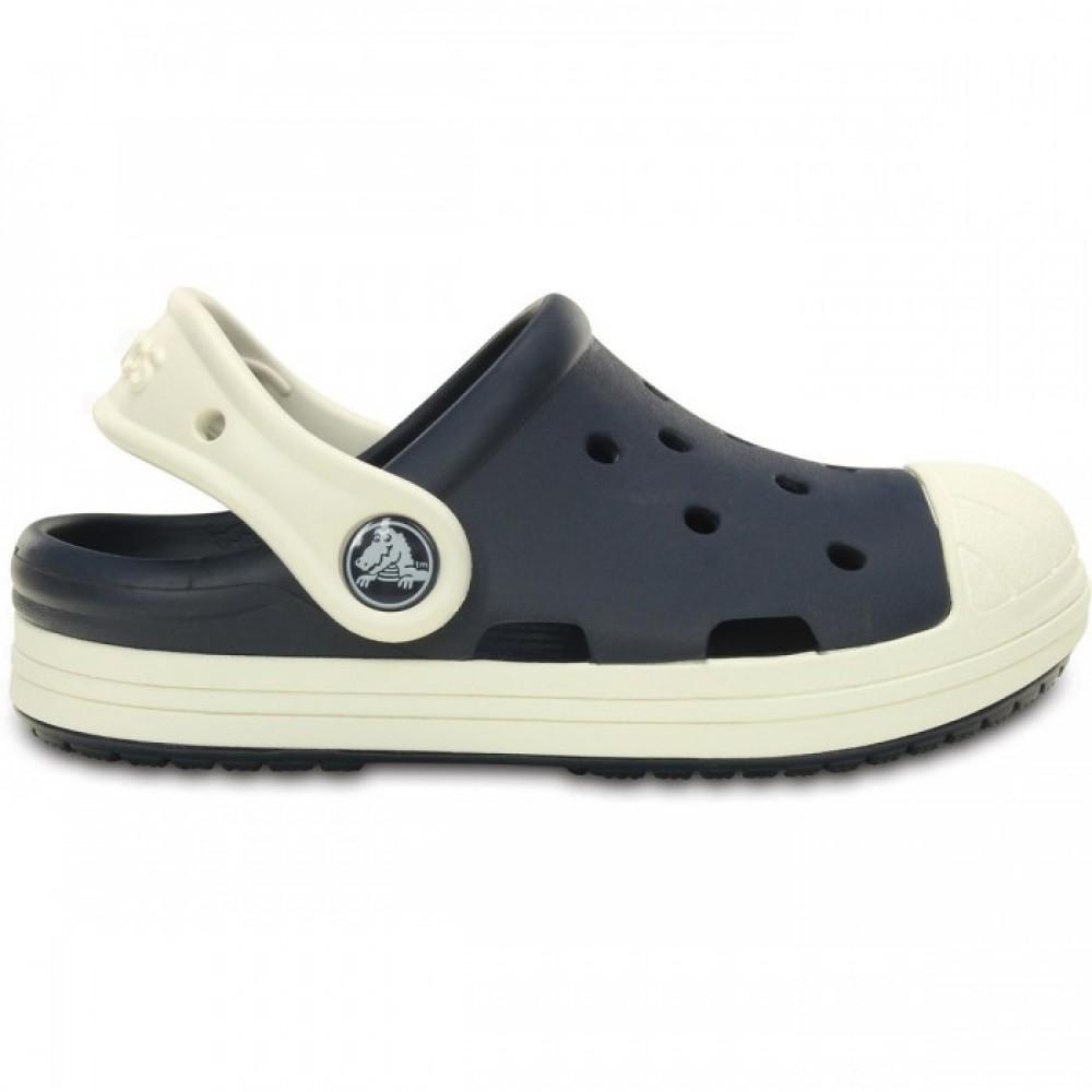 """Детские Кроксы Crocs Kids Bump It Clog """"Navy"""" (Темно-синий)"""