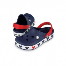 "Детские Кроксы Crocs Crocband Mickey ІI Kids ""Navy"""