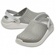 "Сабо Кроксы Crocs LiteRide™ Clog ""Light Grey"""