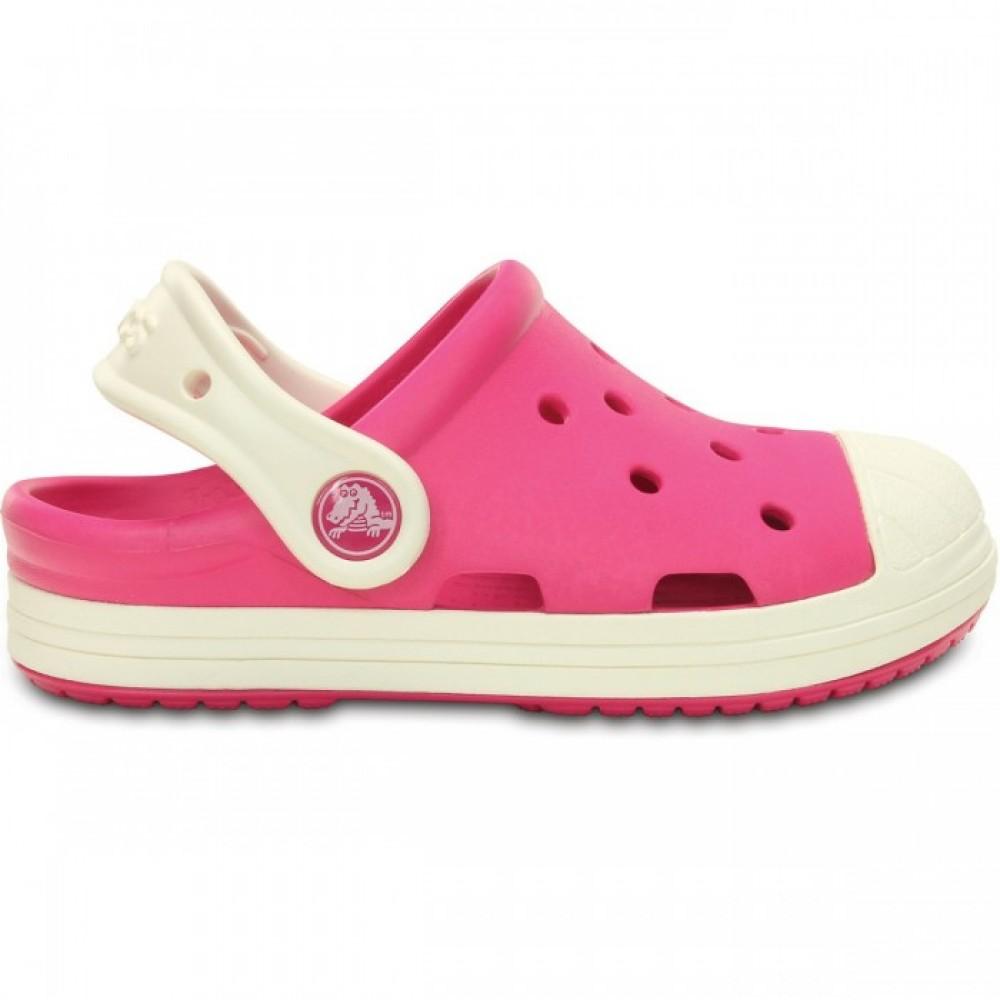 """Детские Кроксы Crocs Kids Bump It Clog """"Pink"""" (Розовый)"""