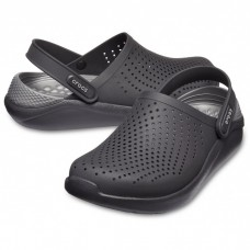 "Сабо Кроксы Crocs LiteRide™ Clog ""Black/Slate Grey"" #204592"