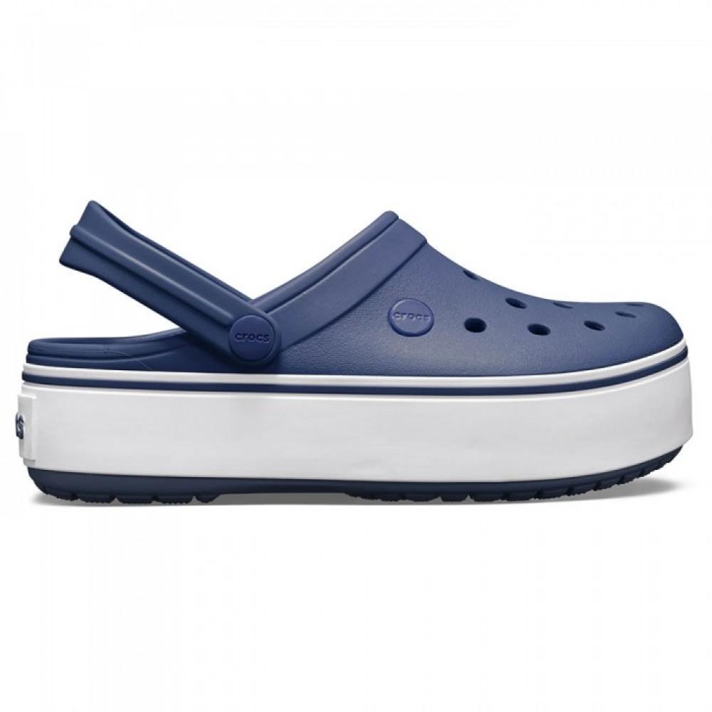 """Сабо Кроксы Crocs Platform """"Navy"""" (Темно-синий)"""
