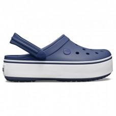 """Сабо Кроксы Crocs Platform """"Navy"""""""
