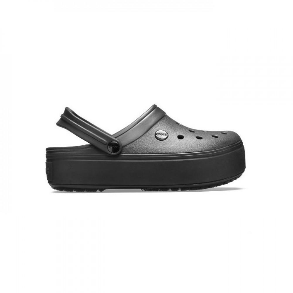 """Сабо Кроксы Crocs Platform """"Black"""" (Черный)"""
