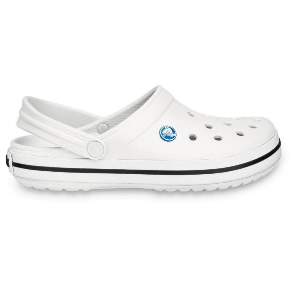 "Кроксы Crocs Crocband ""White"" (Белый)"