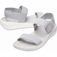 "Сандалии женские Crocs Women's LiteRide™ Sandal ""Smoke"""