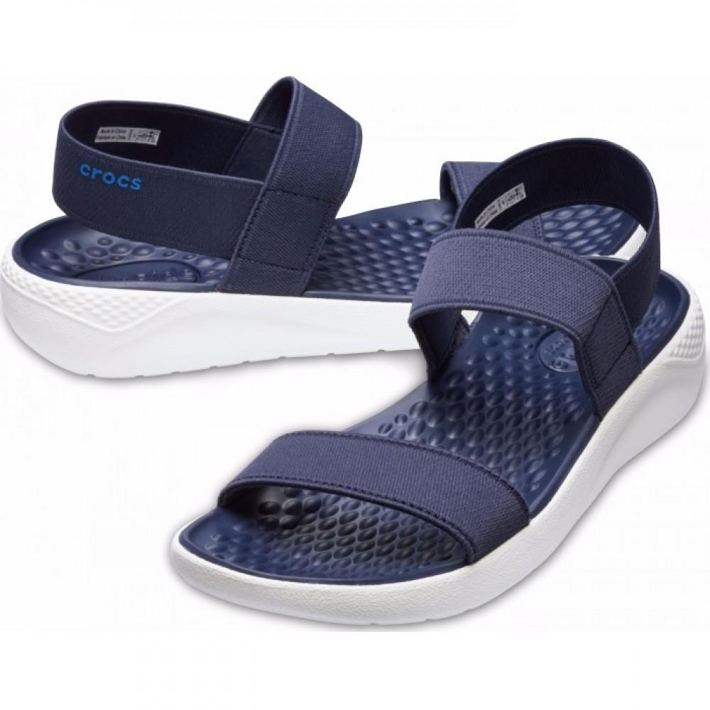 "Сандалии женские Crocs Women's LiteRide™ Sandal ""Navy"" (Темно-синий)"