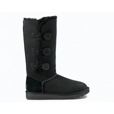 "UGG BAILEY BUTTON TRIPLET II BOOT ""BLACK"""
