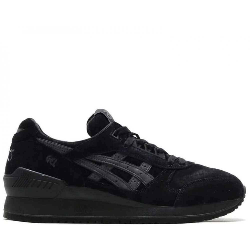 "Кроссовки Asics Gel Respector ""Triple Black"" (Черный)"