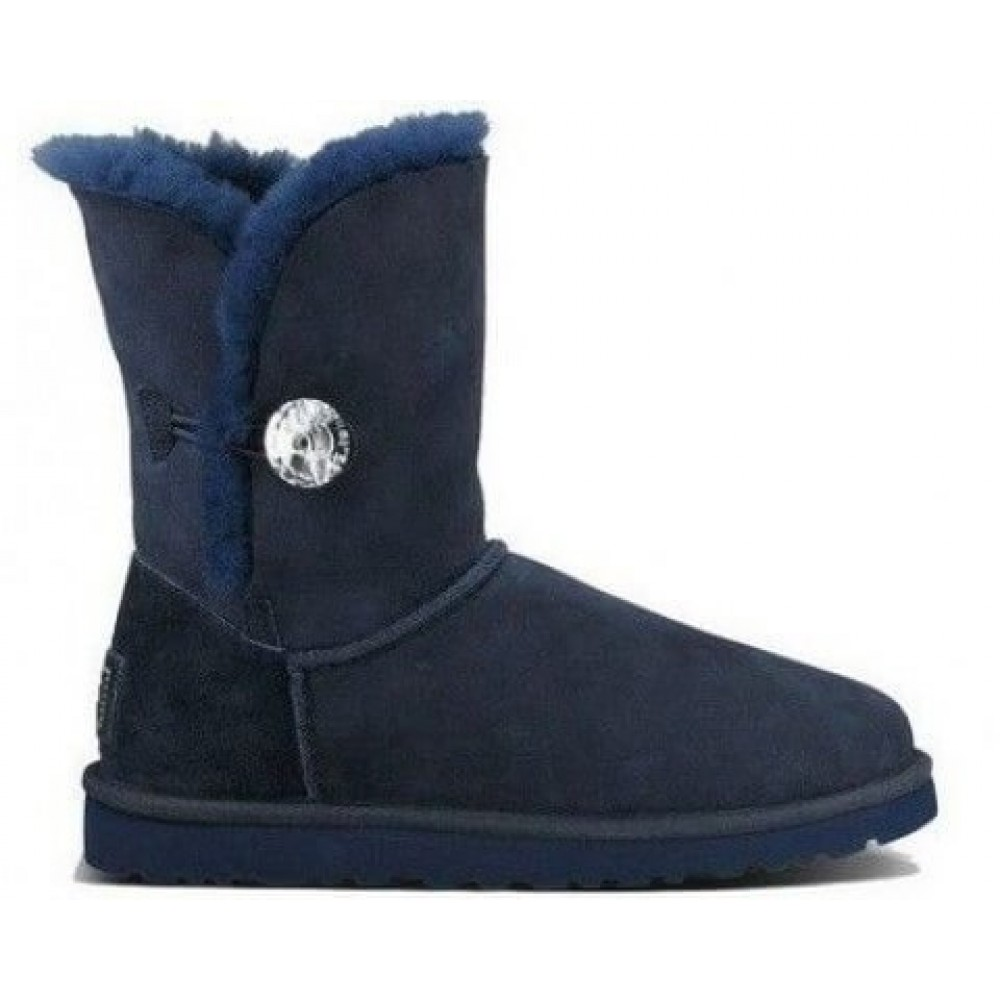 "UGG BAILEY BUTTON II BOOT BLING ""NAVY"" (Синий)"