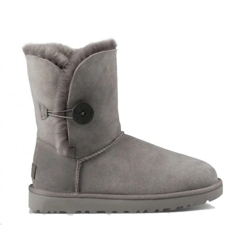 "UGG BAILEY BUTTON II BOOT ""GREY"" (Серый)"