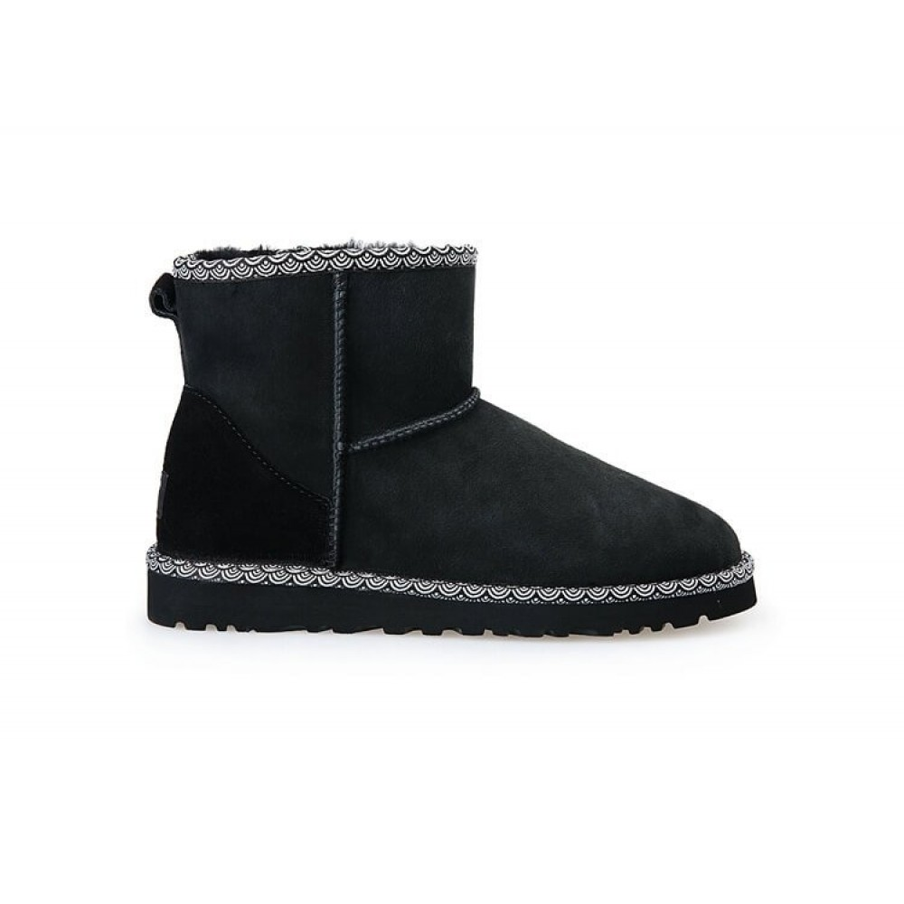 "UGG CLASSIC MINI II BOOT LIBERTY ""BLACK"" (Черный)"