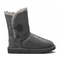 """UGG BAILEY BUTTON II BOOT LEATHER """"SEAL"""""""