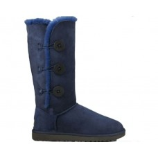 """UGG BAILEY BUTTON TRIPLET II BOOT  """"NAVY"""""""