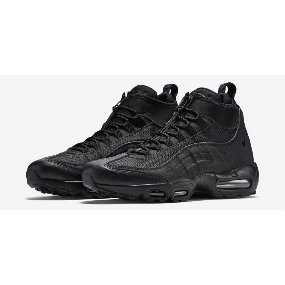 "Кроссовки Nike Air Max 95 Sneakerboot ""All Black"" (Черный)"