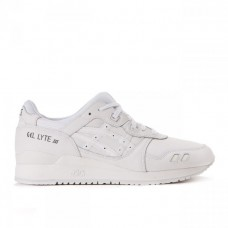 "Кроссовки Asics Gel Lyte III Leather ""All White"""