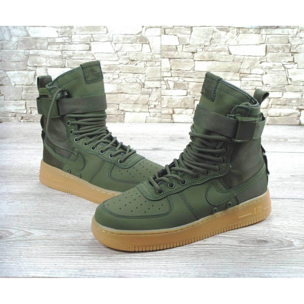 Кроссовки Nike Special Field Air Force 1 Haki (Хаки)