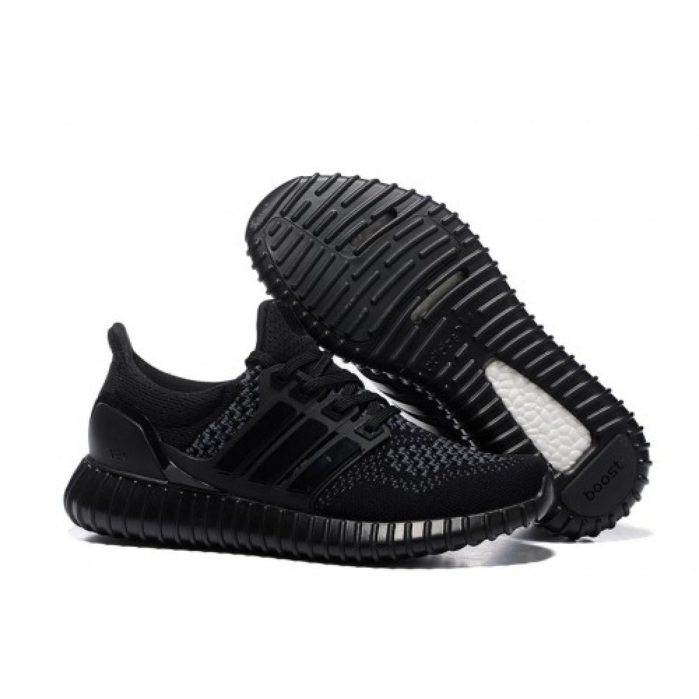 Кроссовки Adidas Ultra Yeezy Boost 350 Black Grey ()