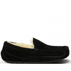 "UGG ASCOT SLIPPER ""BLACK"""