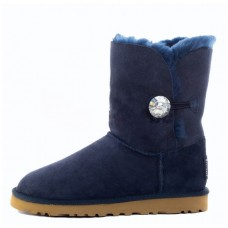 """UGG BAILEY BUTTON II BLING BOOT """"NAVY"""""""