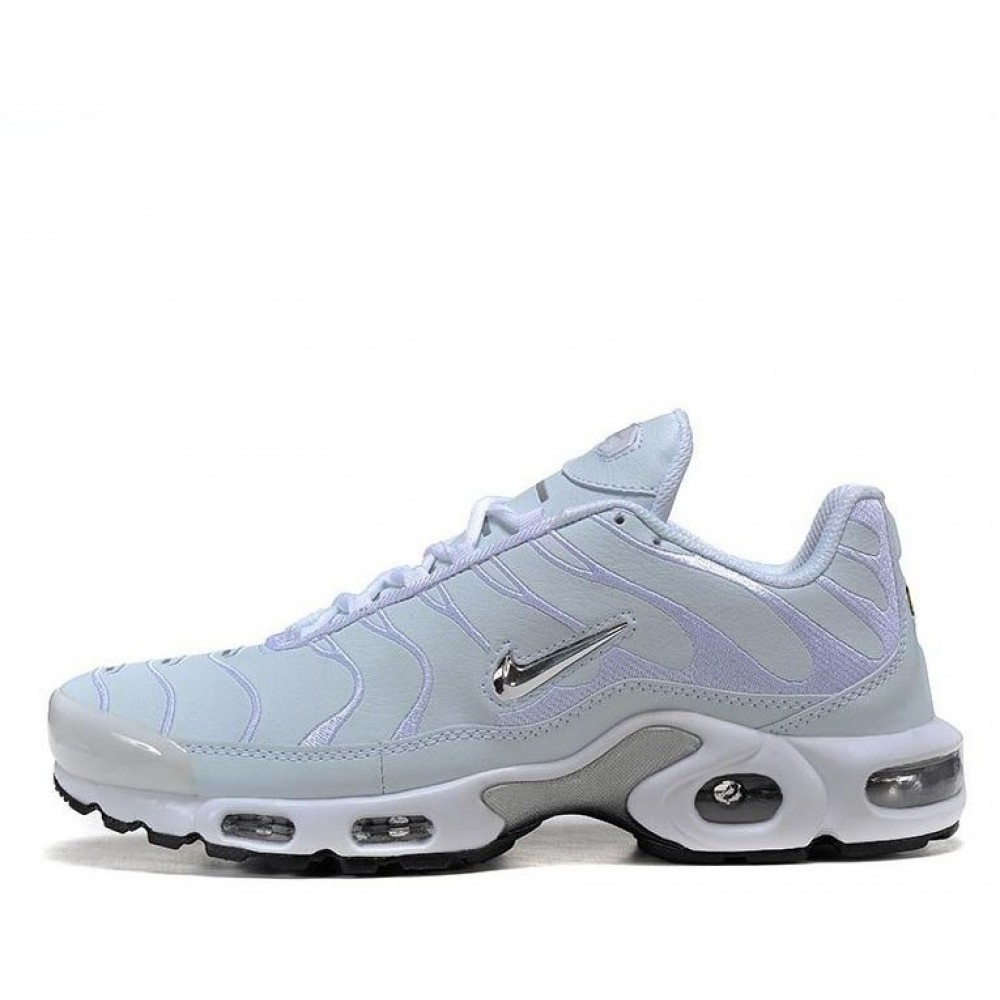 "Кроссовки Nike Air Max TN Plus ""White/Silver"" (Белый)"