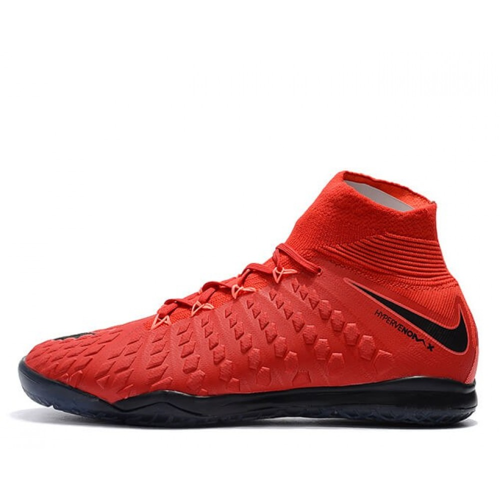 "Футзалки Nike Hypervenom x Proximo II DF IC ""University Red/White/Bright Crimson"" (Красный)"