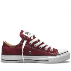 "Кеды Converse All Star Chuck Taylor Low ""Bordo"""