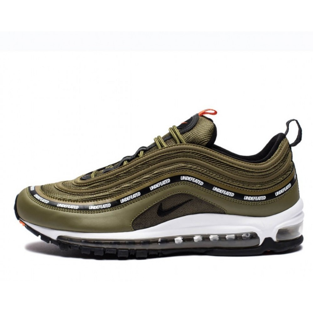 """Кроссовки Undefeated x Nike Air Max 97 """"Olive"""" (Белый)"""