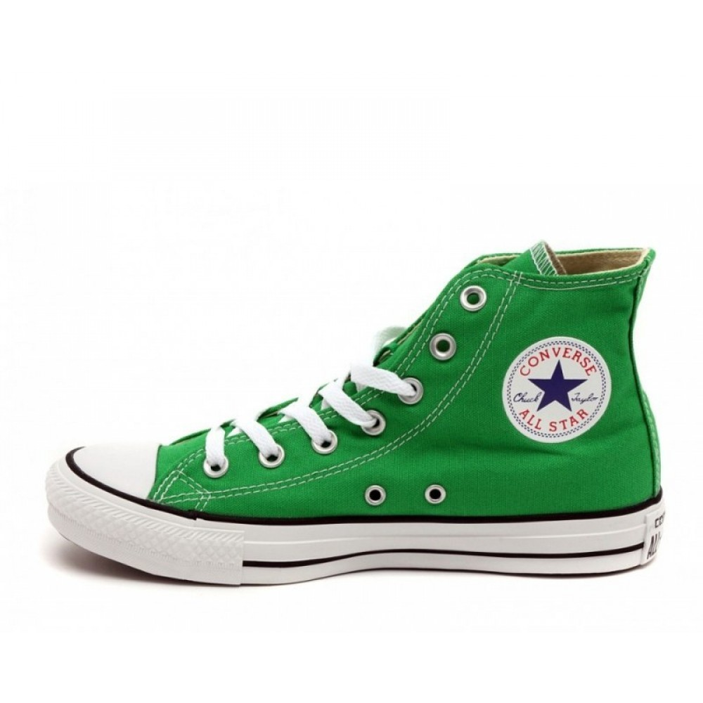 "Кеды Converse All Star Chuck Taylor High ""Green"" (Зеленый)"