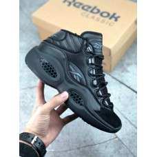 "Кроссовки Reebok Question 1 Mid ""Black"""