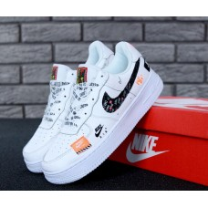 """Женские кроссовки Nike Air Force 1 Low Just Do It """"White"""""""