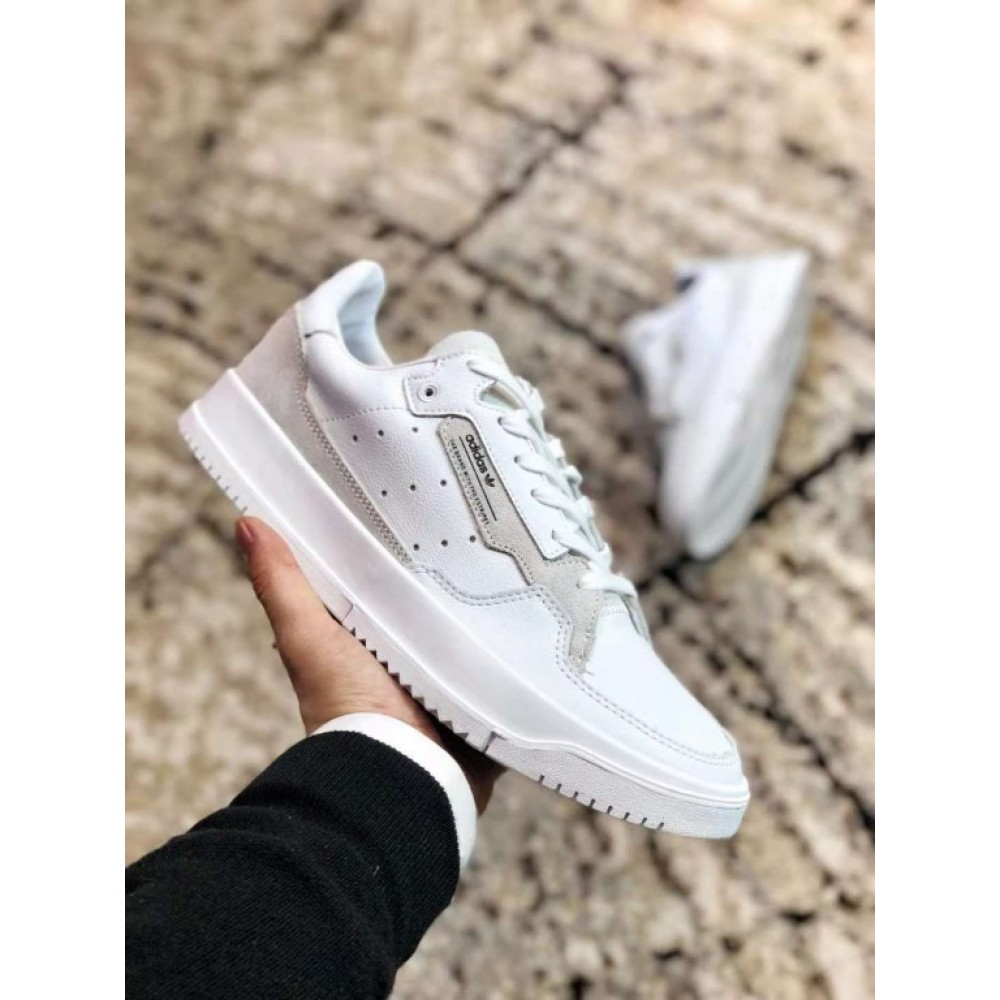 "Кроссовки Adidas Yeezy Powerphase ""Core White"" (Белый)"