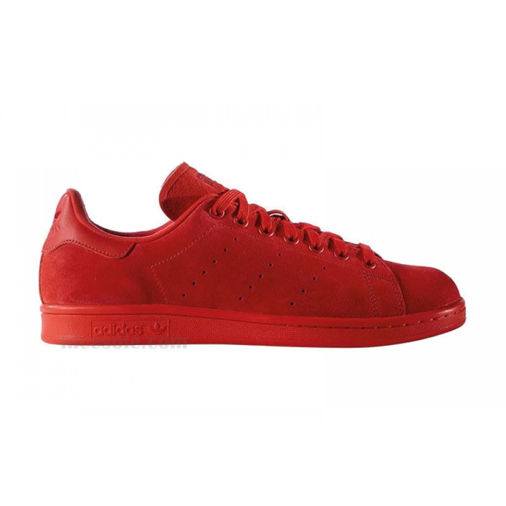Кроссовки Adidas Stan Smith Red Suede ()