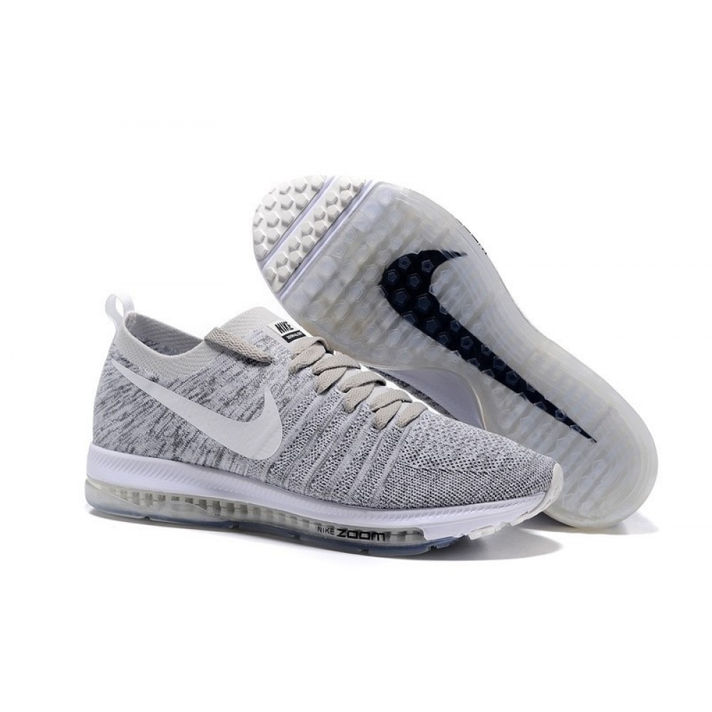 Кроссовки Nike Zoom All Out Flyknit Grey (Серый)