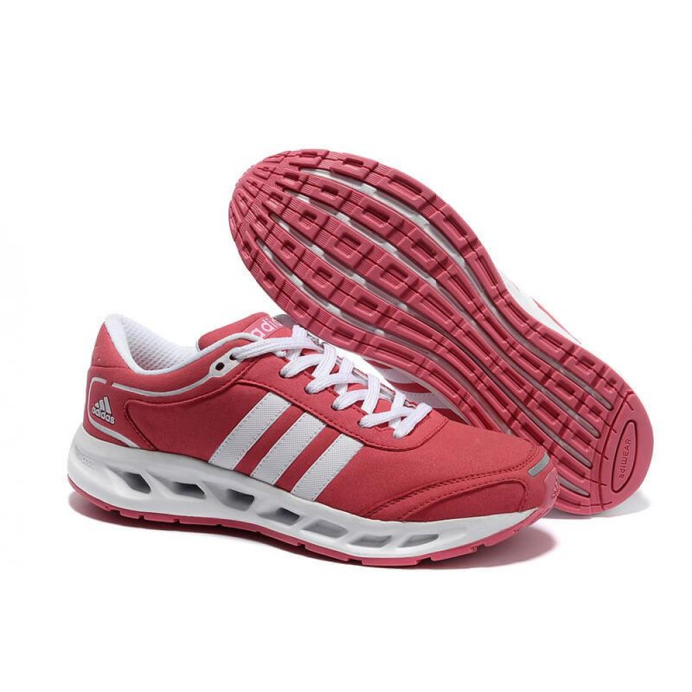 Кроссовки Adidas Running Shoes Pink White Cute Women Cc. Solution ()