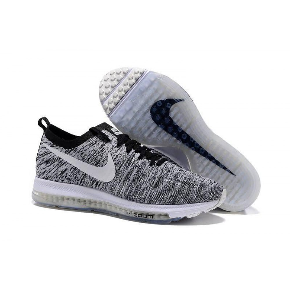 Кроссовки Nike Zoom All Out Flyknit Wolf Grey (Серый)
