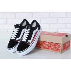 Кеды Vans Old Skool Shark Black White
